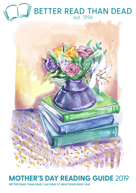 Flowers in a Vase on top of a stack of books on a catalogue cover