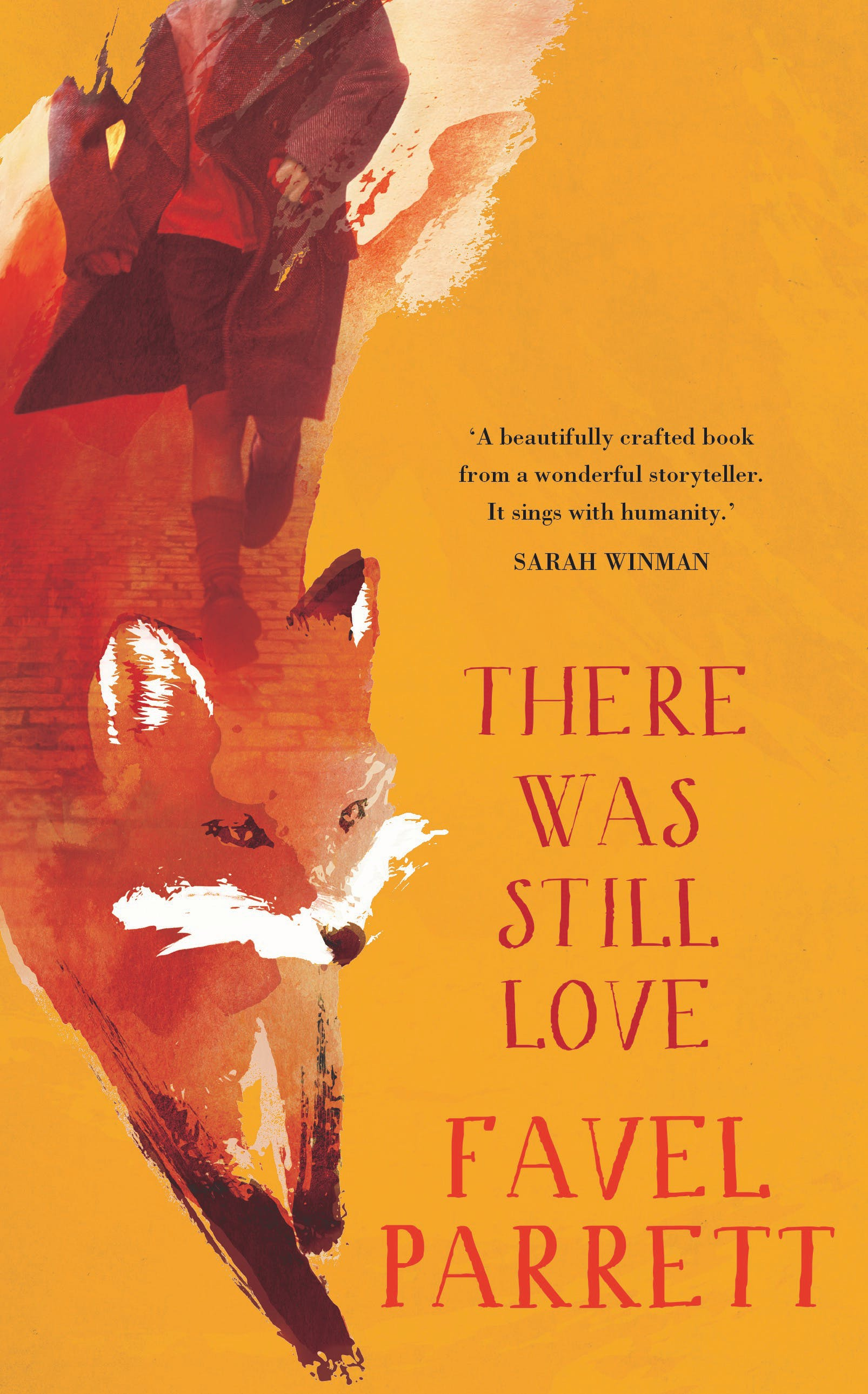 There Was Still Love cover with red fox and orange background