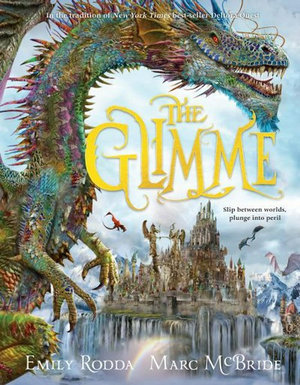 The Glimme book cover with dragon by Emily Rodda